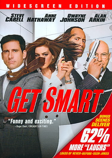 GET SMART BY CARELL,STEVE (DVD)